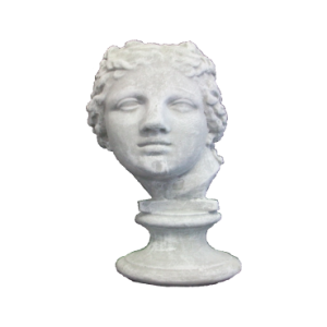 Ornamental Bust Head Statue